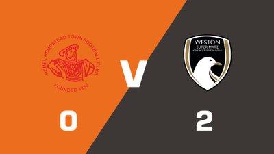 Highlights: Hemel Hempstead Town vs Weston-super-Mare AFC