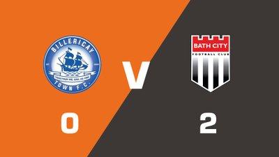 Highlights: Billericay Town vs Bath City