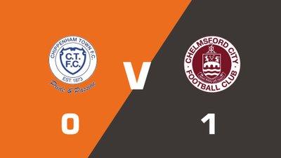 Highlights: Chippenham Town vs Chelmsford City