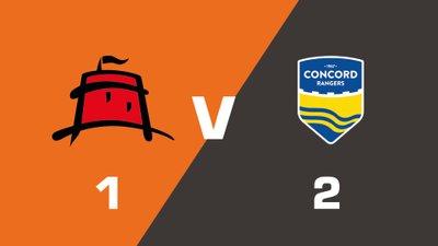 Highlights: Eastbourne Borough vs Concord Rangers