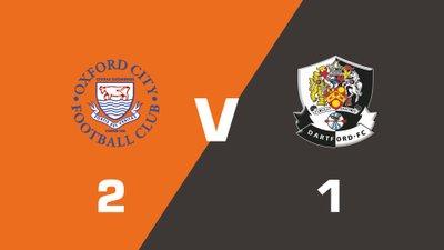 Highlights: Oxford City vs Dartford