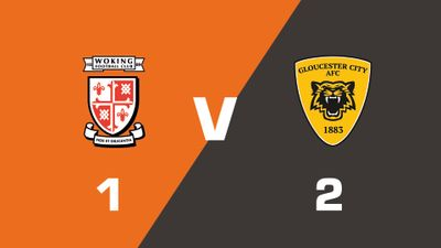 Highlights: Woking vs Gloucester City