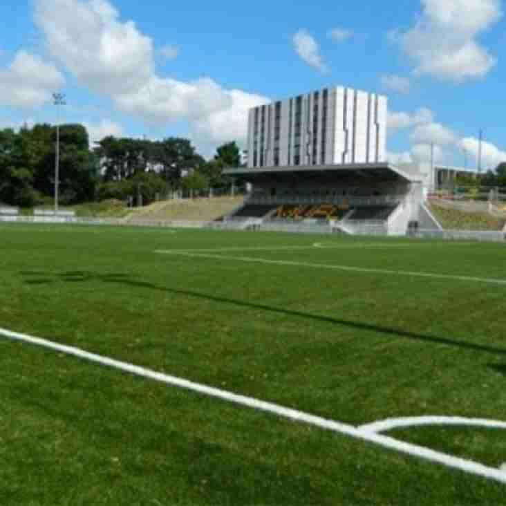Stones set to go at new stadium