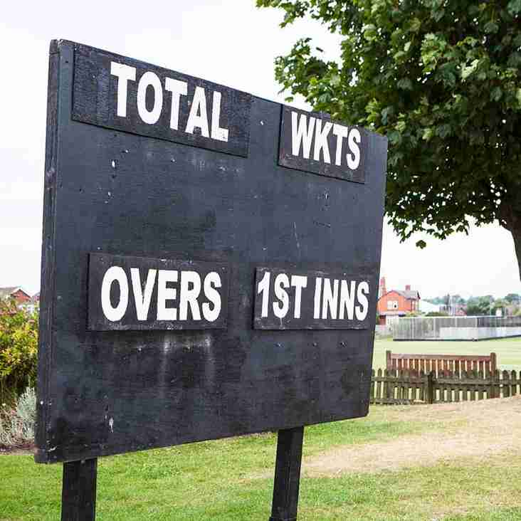 Finchampstead CC Match Reports -11th August 2018