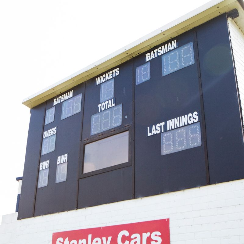 SURPRISE DONATION REVIVES SCOREBOARD PROJECT