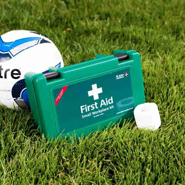 Application for 1st Team Match-Day First Aider / Sports Therapist