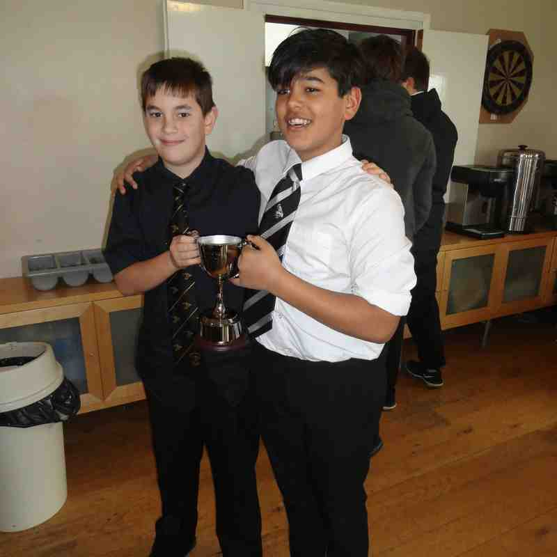 Jonah Lomu Cup - Chinnor U13s v Gosford All Blacks U13s