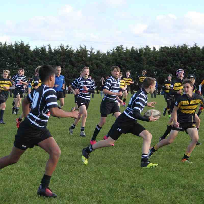 Chinnor U14s Cup Match against Wallingford - Oct 2016