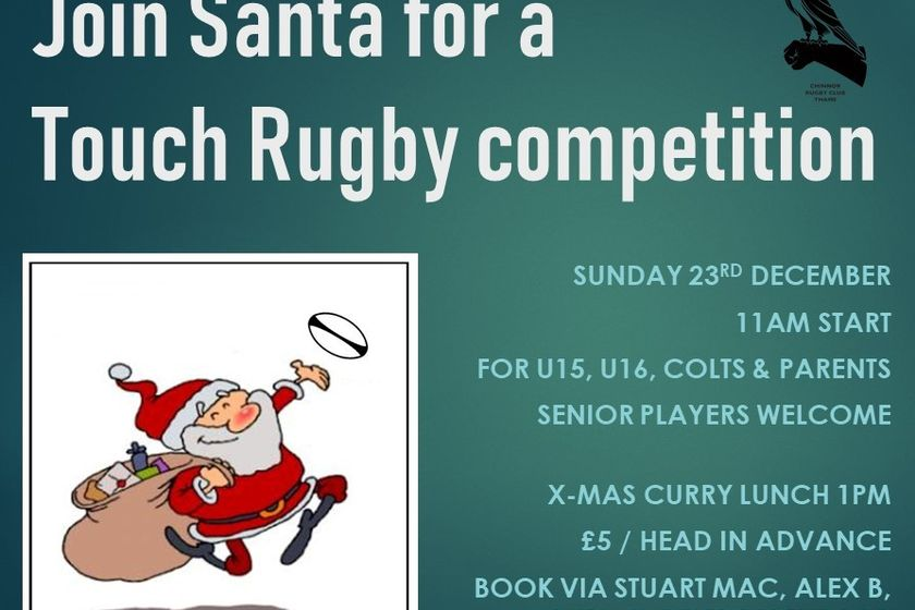 Christmas Touch Rugby Competition