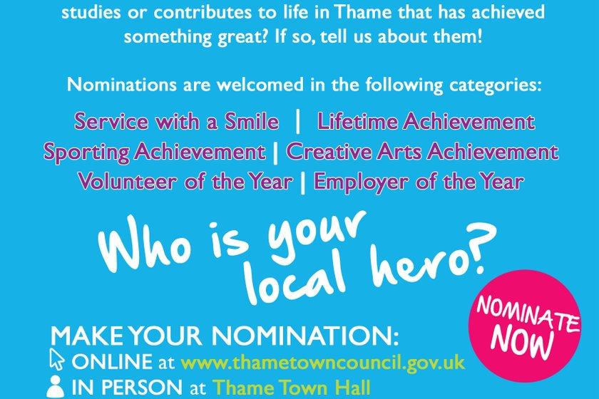 Thame Town Awards 2019