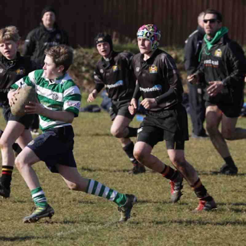 South U-12's v Market Harborough U-12's 19-02-12