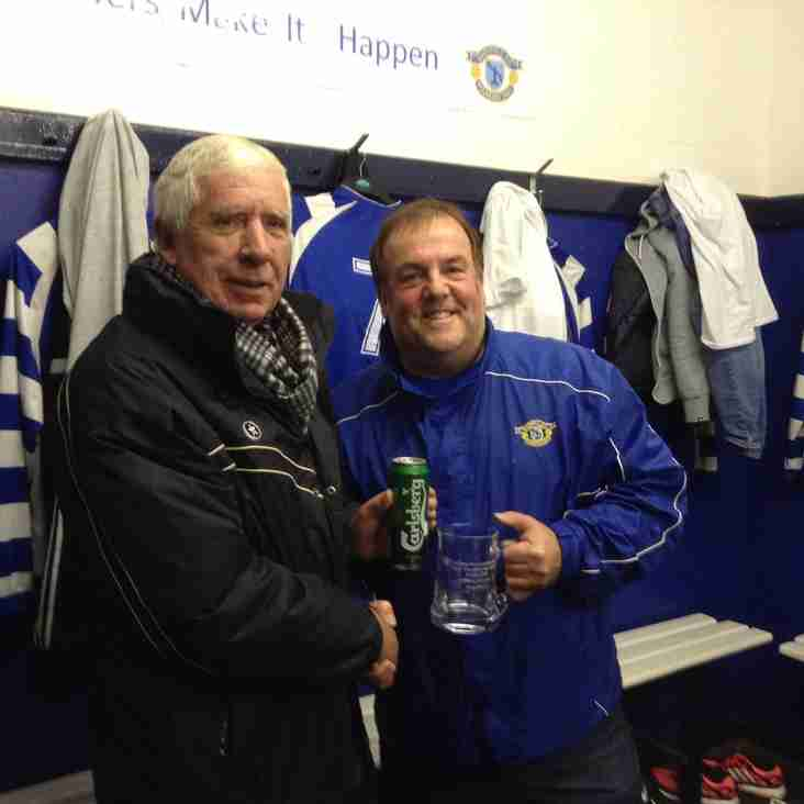 Dave Hughes West Cheshire League Manager of Month