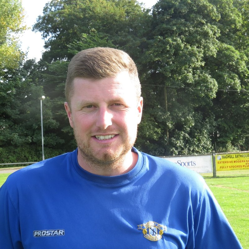 Joe Burns wins West Cheshire League Manager of Month award