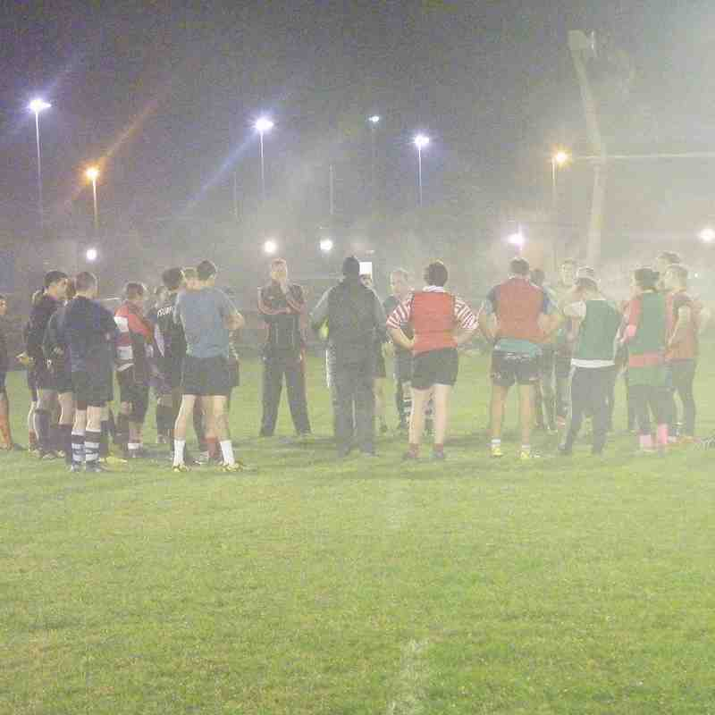 SRFC Training Night 31st Oct 2016