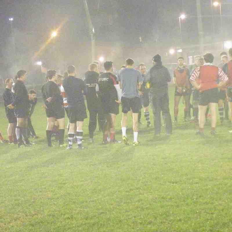 SRFC Training Night 31st Oct 2016