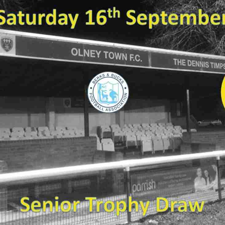 Berks and Bucks Senior Trophy Draw