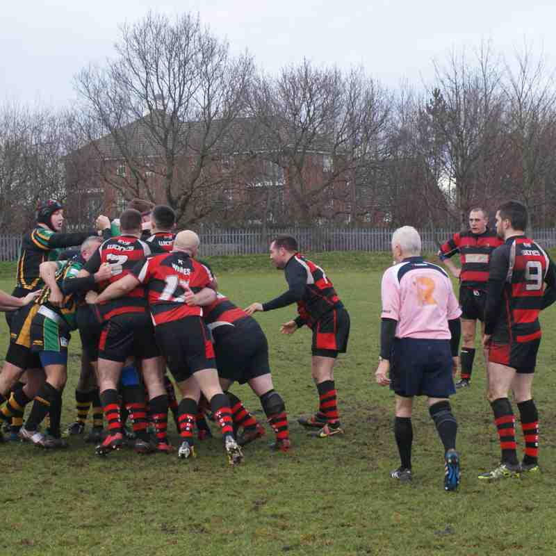 3rds vs Helsby 14.01.17