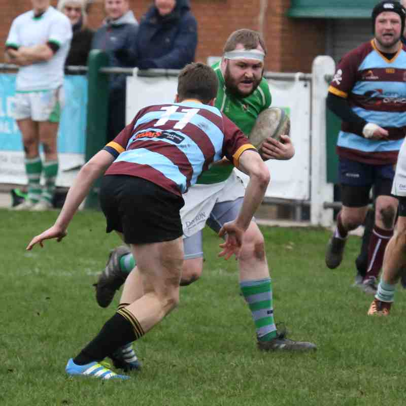 SCRFC 2ns v Camp Hill 2nds 05/01/2019