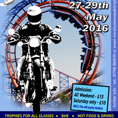 Kawasaki Triple Owners Club UK Rally 26-29th May