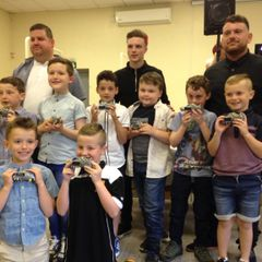 AFC LLWYDCOED U/7'S  & U/9'S PRESENTATION 2015/2016 SEASON