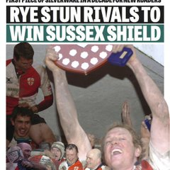 Rye won the Sussex Shield 2013