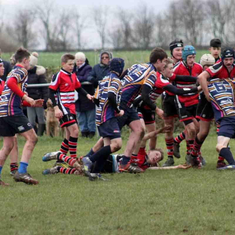 U14 v Dinnington 20/11/16 Yorkshire Cup Quarter Final