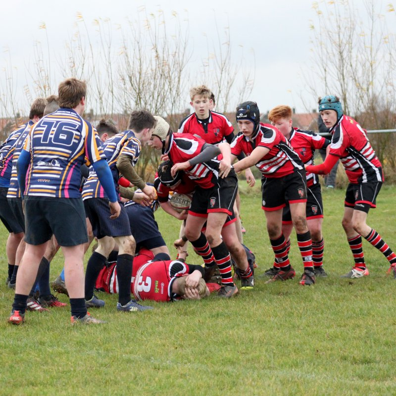 U14  impressive Yorkshire Cup QF victory with disciplined display at Dinnington.