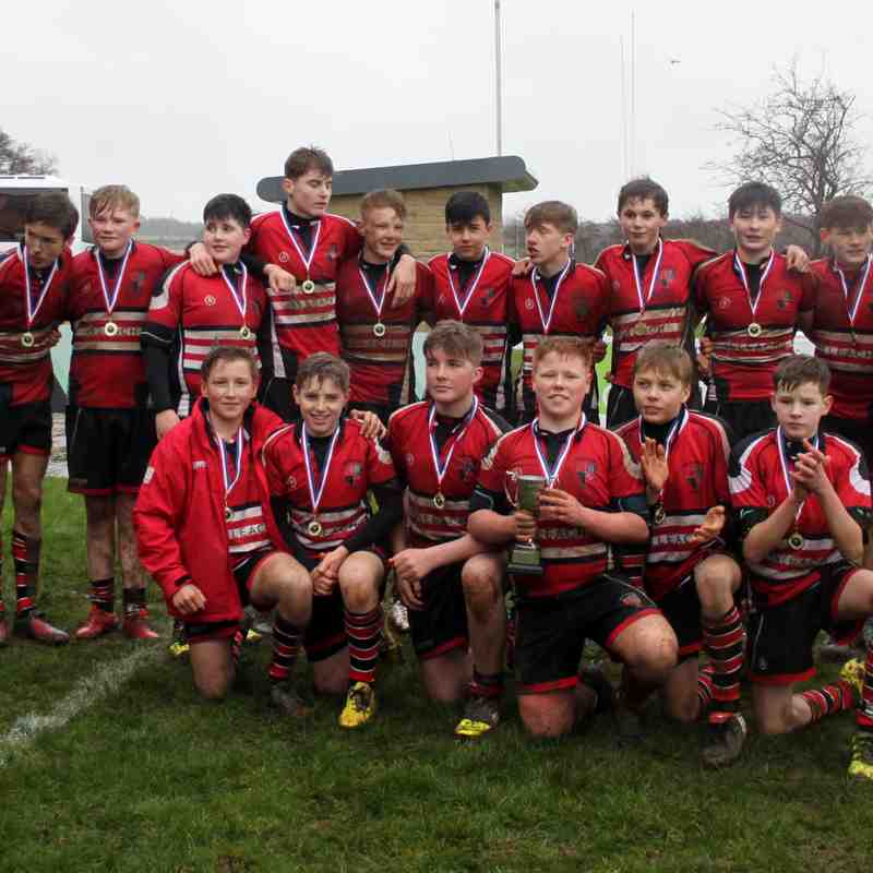 U14s Yorkshire Cup Champions part 2