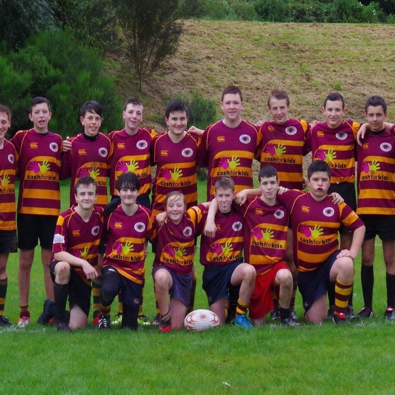 Loch Lomond U15 lose to Cartha QP 49 - 12