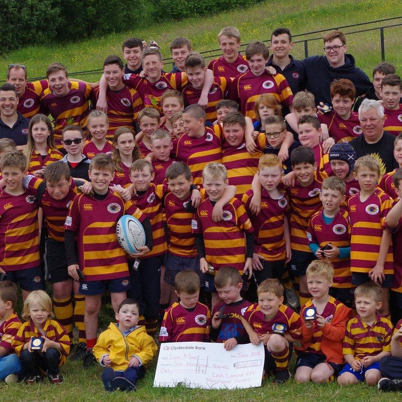 Loch Lomond End of Season Minis and Juniors 2017-18