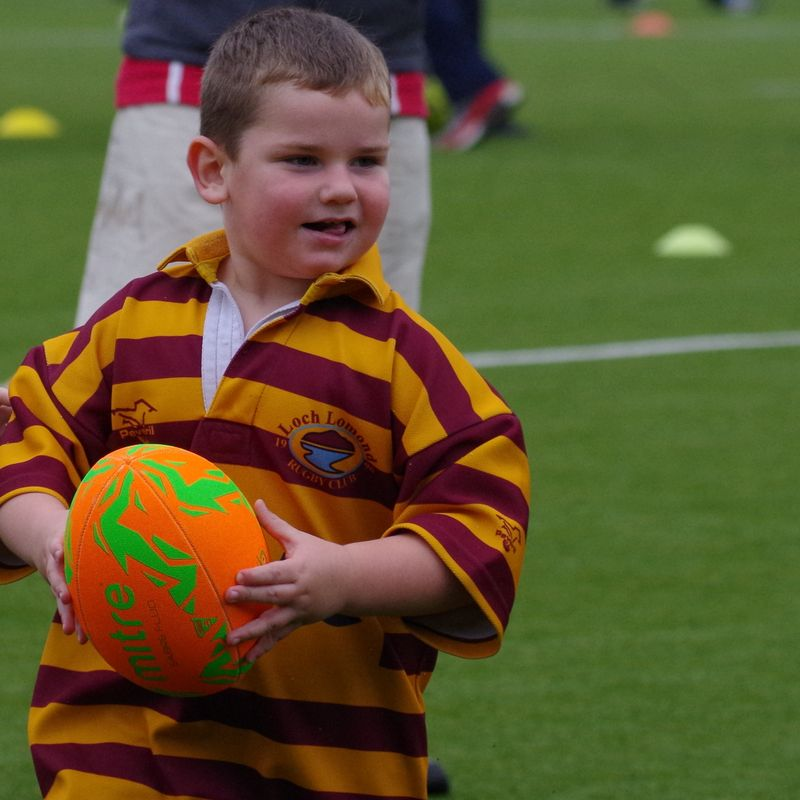 Minis play at Cumbernauld