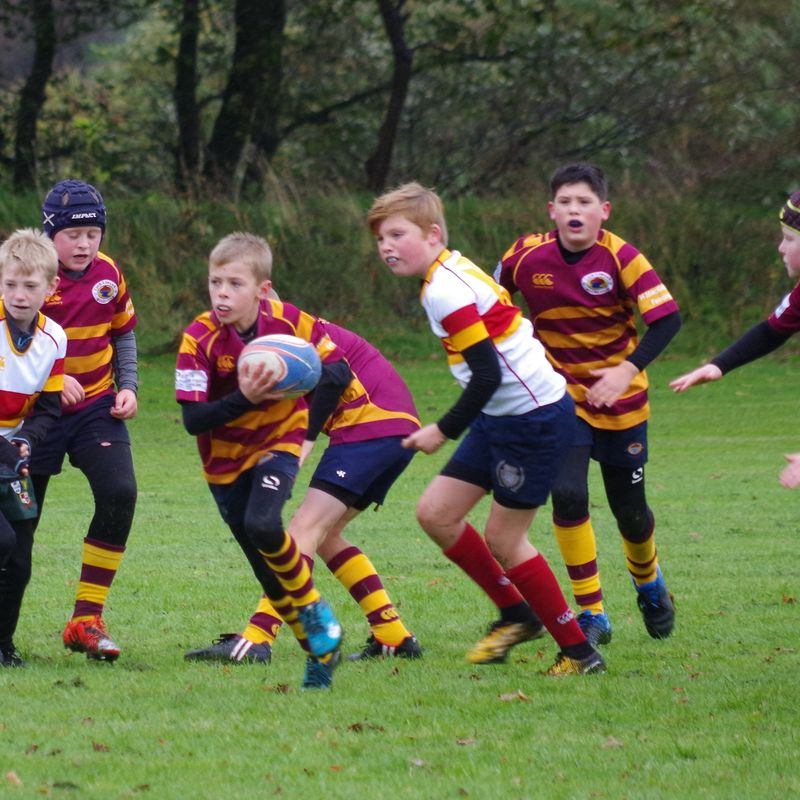 Minis take on Kilmarnock - and the wind!!