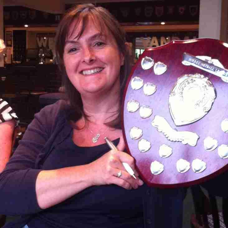 Surrey League Trophy!