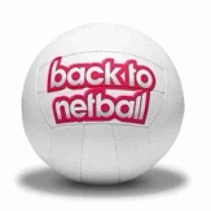 Looking to get back into Netball?