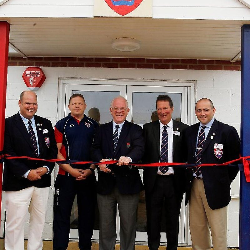 Thatcham RFC Clubhouse was officially opened on 10th September 2016