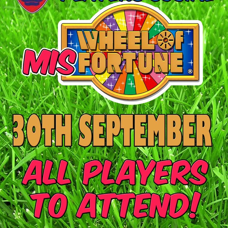 New Players Social - 30th September<