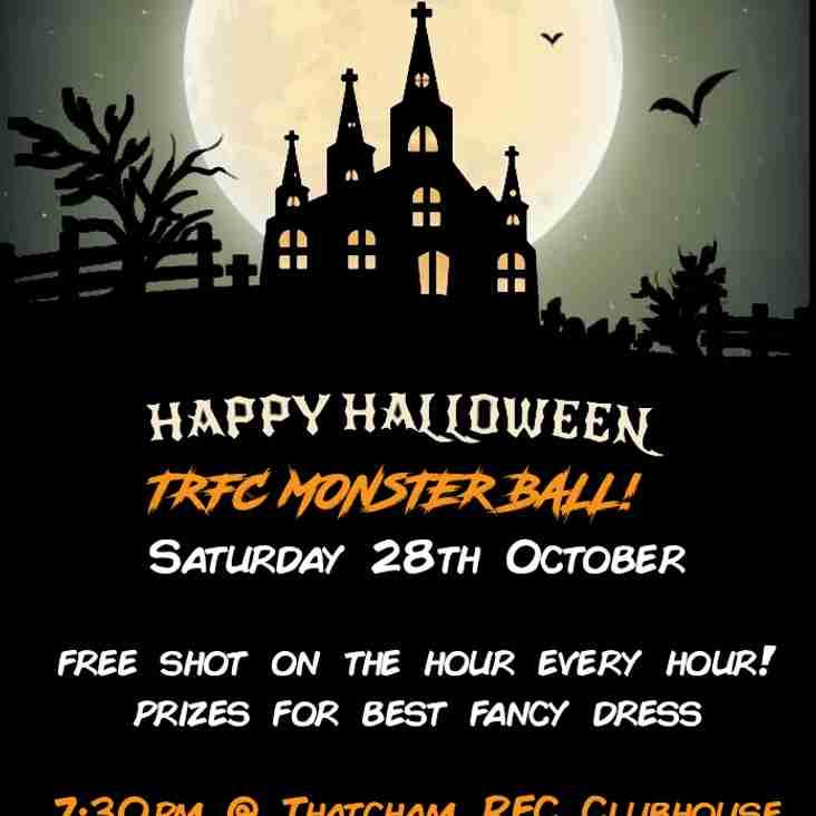 Thatcham RFC Halloween Party - Kids & Adults Parties!