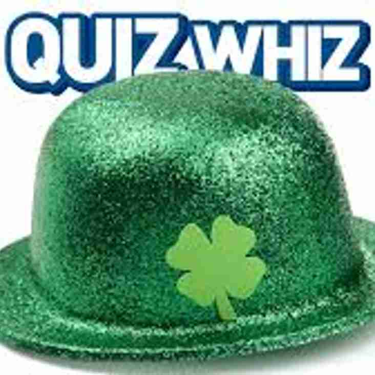 St Patricks Quiz!