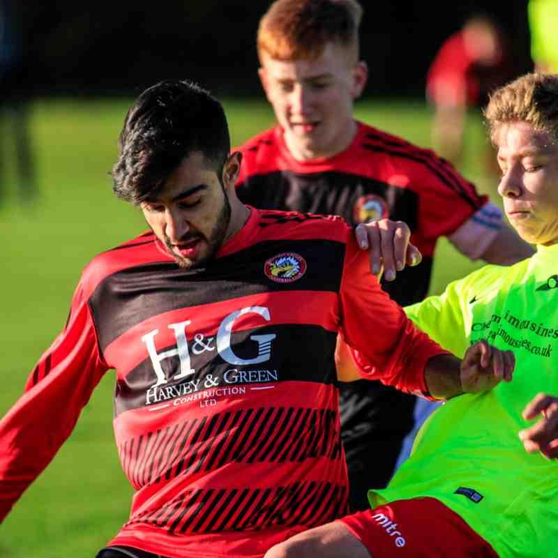 Carshalton Athletic Blues vs Sports U16