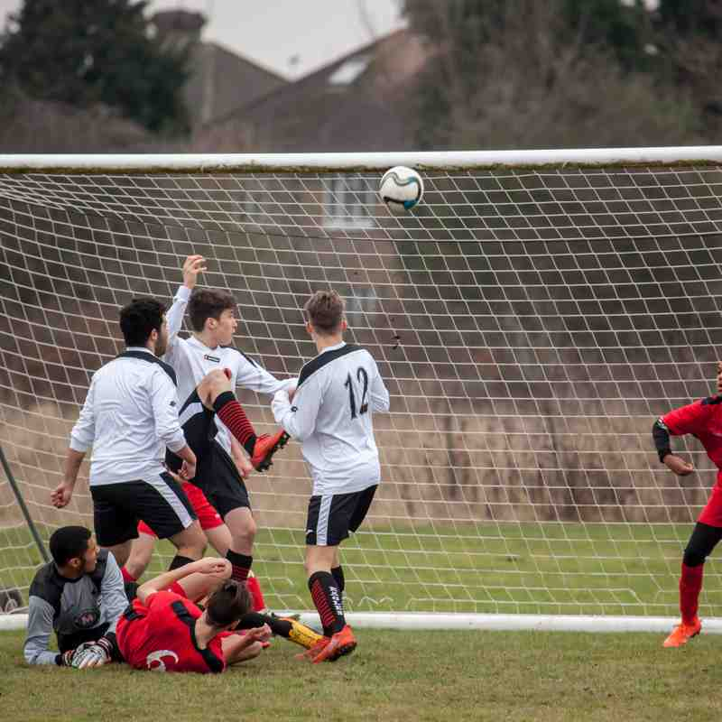 Sports U16 vs Carshalton Athletic Blues