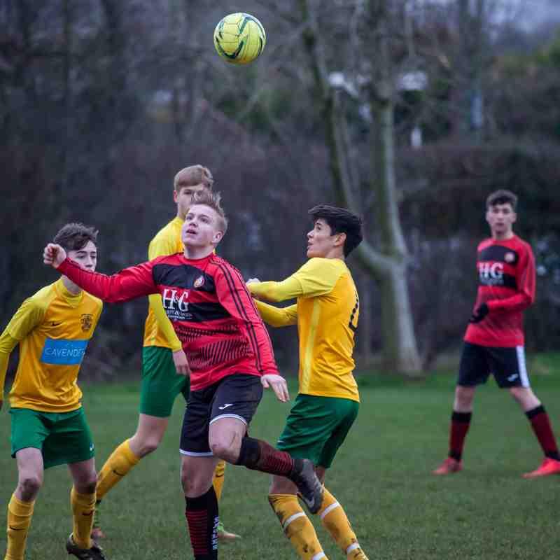 Burpham Jnrs U16 vs Sports U16
