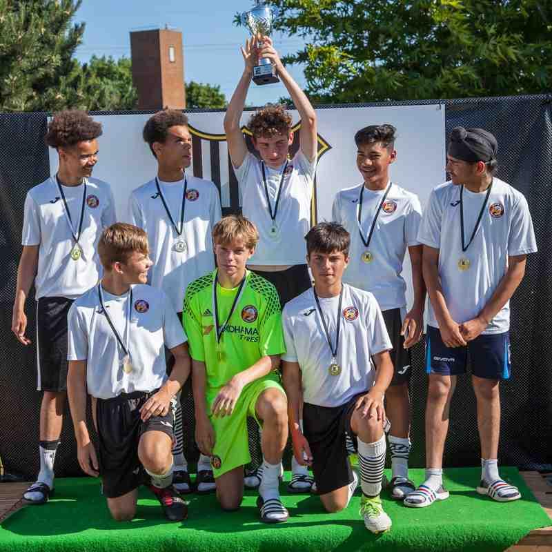 U14s at Abbey Rangers Tournament