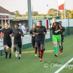 Sports 1st vs Lyne FC (pre season friendly)