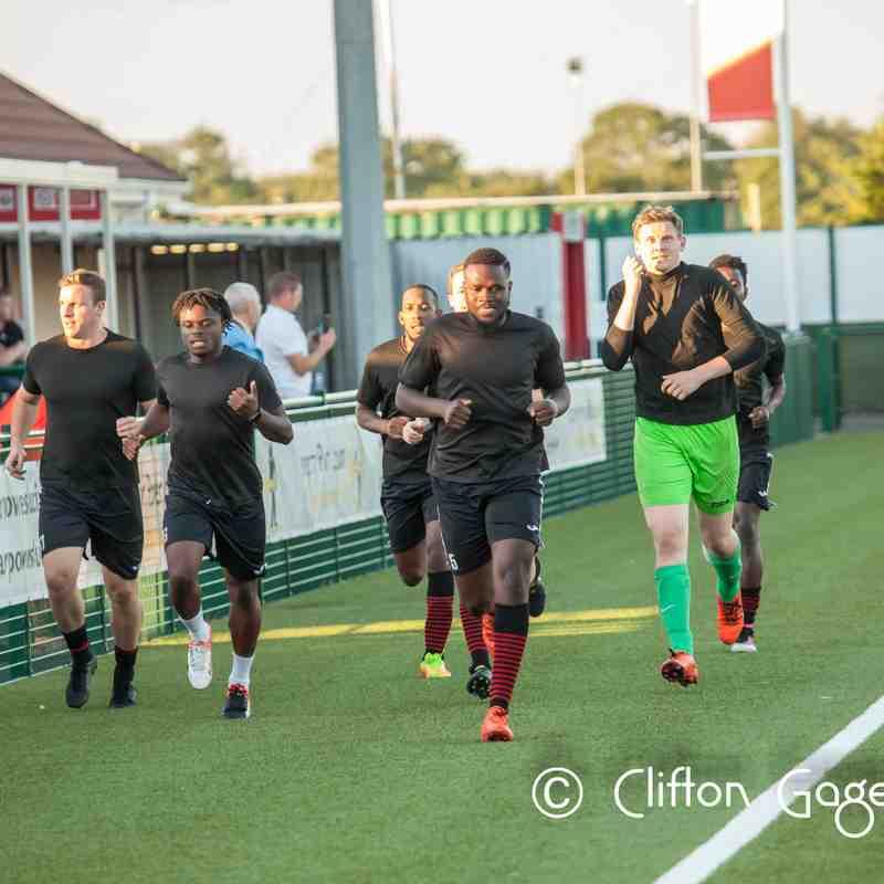 Sports 1st vs Lyne FC (pre season friendly)