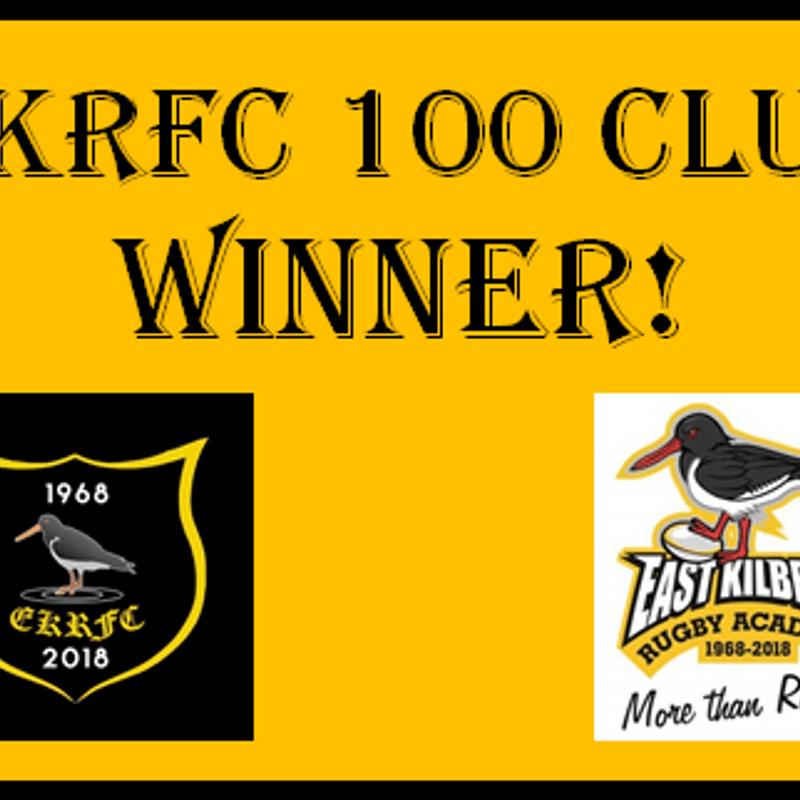 100 Club Winner