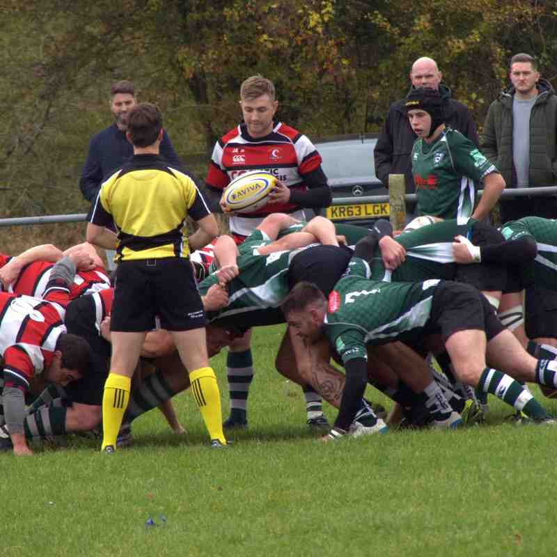 1st XV in action v Bristol Sarries