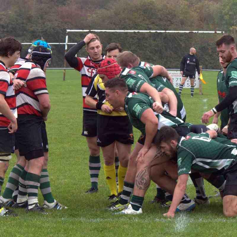 1st XV in action v Bristol Sarries