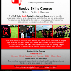 Rugby Skills Course at Frome RFC