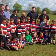 Frome RFC U6's end great season together..