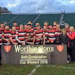 Frome RFC win Bath Combination Vase Final.